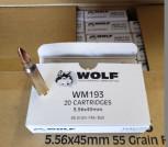 WOLF 5.56 X 45