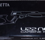 Beretta Neos Inox with carbine conversion Kit