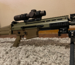 [WTS] Scar 17S Heavy. ~300 Rounds total through her. Like new!